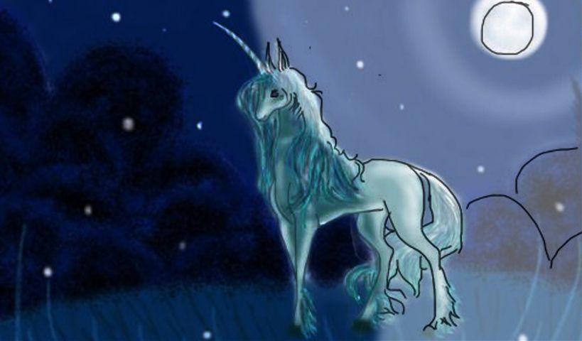 unicorn drawing steps