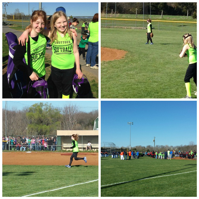 Opening day in Grottoes