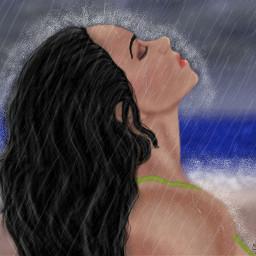 dcrainyday draw drawing beach emotions