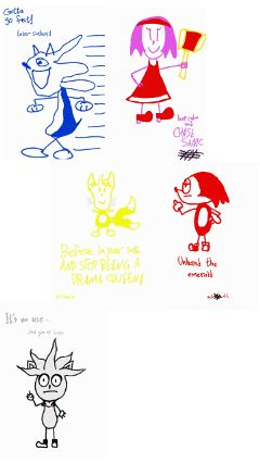 sanicnfrendz sonic_the_hedgehog bored