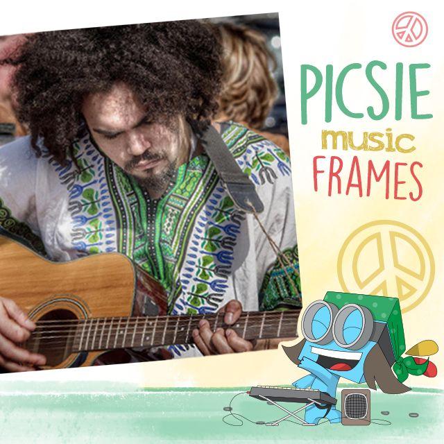picsie music frames