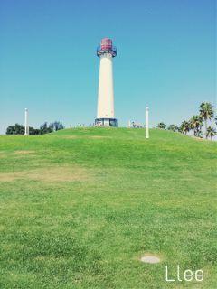 throwback longbeach lighthouse beach photography