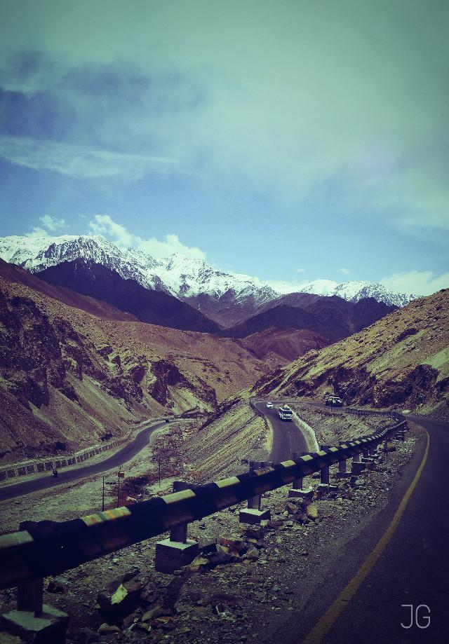 Mountain roads  #lomoeffect