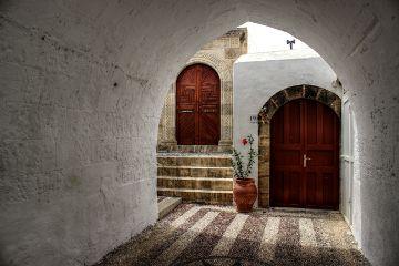 lindos photography travel greek rhodos