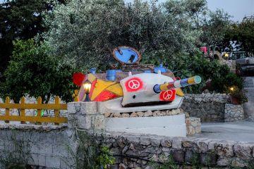 photography colorful summer greek rhodos