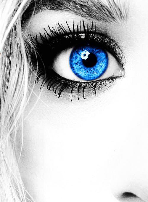 #blue #eyes #art