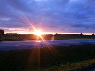 midsummer nofilter midnightsun sunset sunny