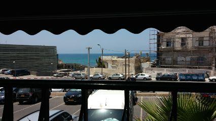 israel jaffa food view sea