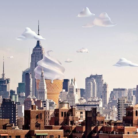 interesting icecream softserve cityscape city waparchitecture