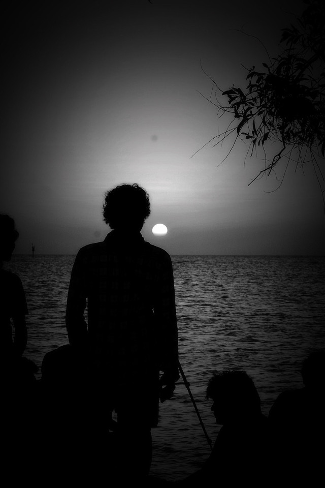 #silhouette  #sunset