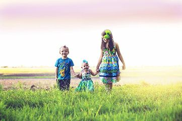 baby family emotions children nature