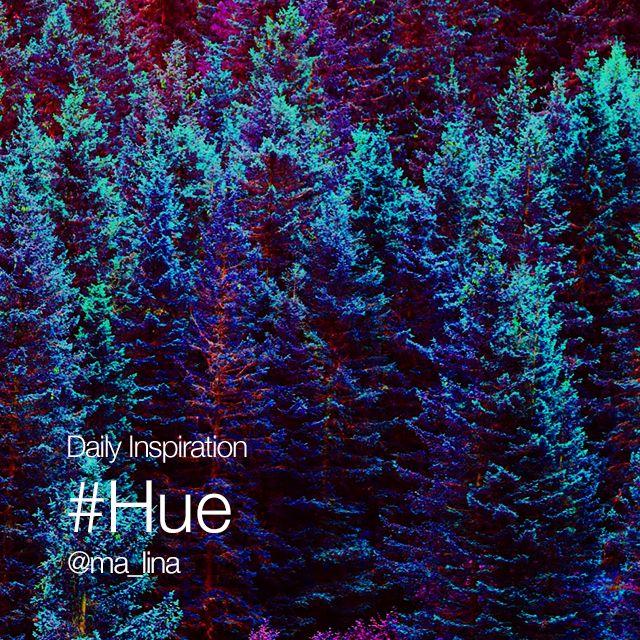 hue photo effect