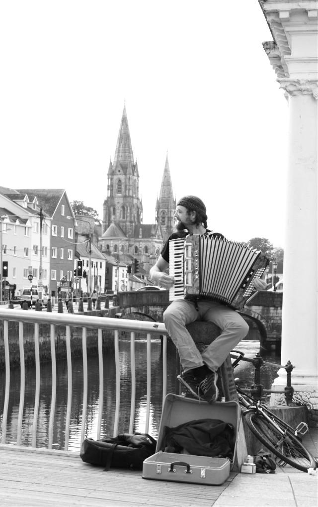 #photography #blackandwhite #music #people #street  #cork #ireland