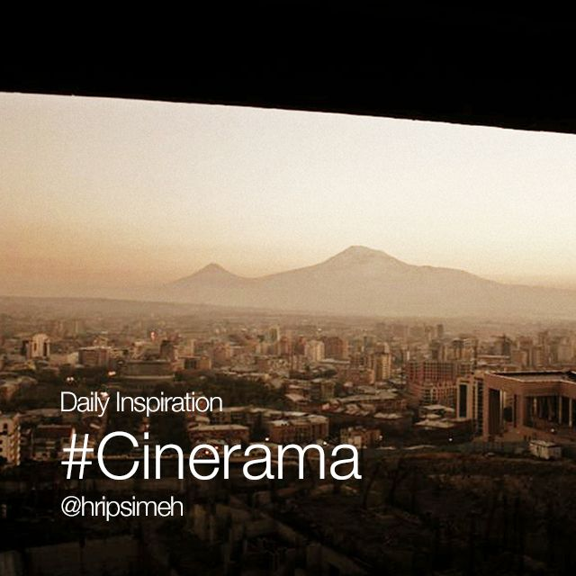 #cinerama photo effect
