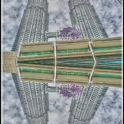 hdr photography mirror travel klcc