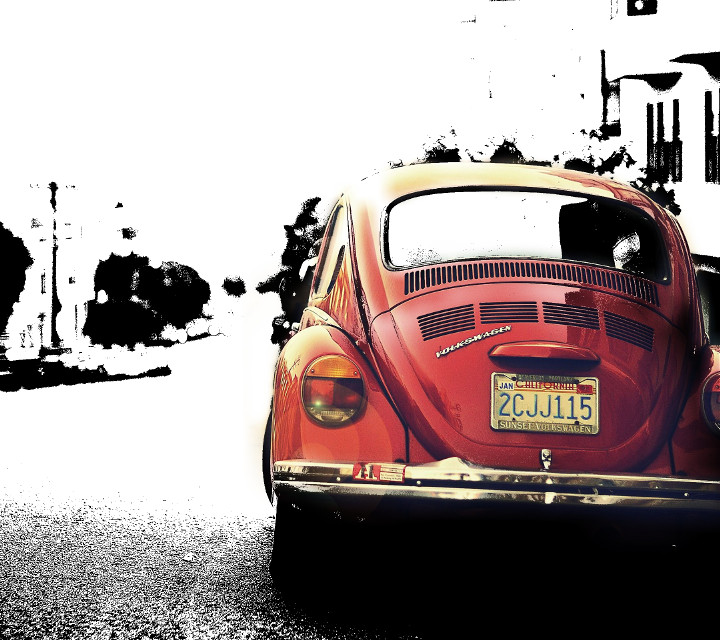 #red   #photography #hdr #flower #cars  #colorsplash #blackandwhite  #volkswagen