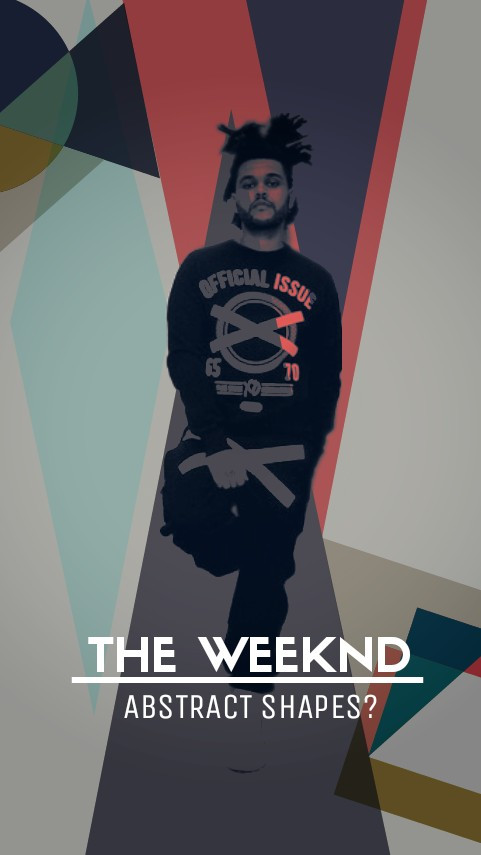 #abstract #theweeknd #abeltesfaye #people #music #collage #sonrie
