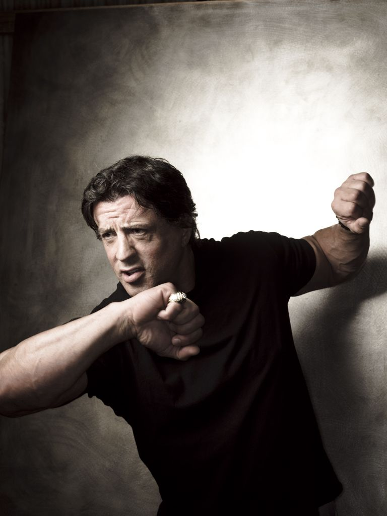 Celebrity photos - Silvester Stallone by Bill Cramer