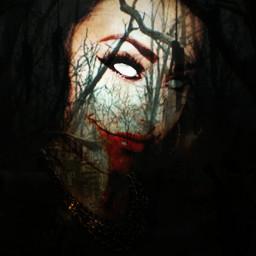 darkart photography evilart monster portrait