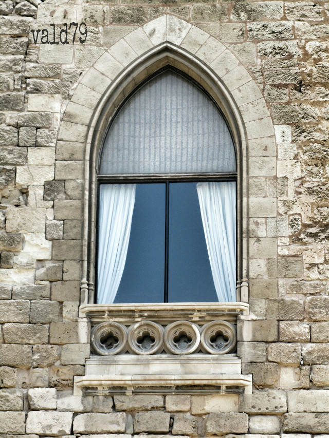....without ! Have a nice day friends 💜 #window #castle #photography #old #architecture